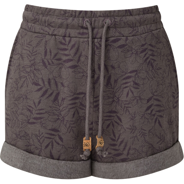 tentree Bamone Sweatshorts Women, boulder grey/floral all over print