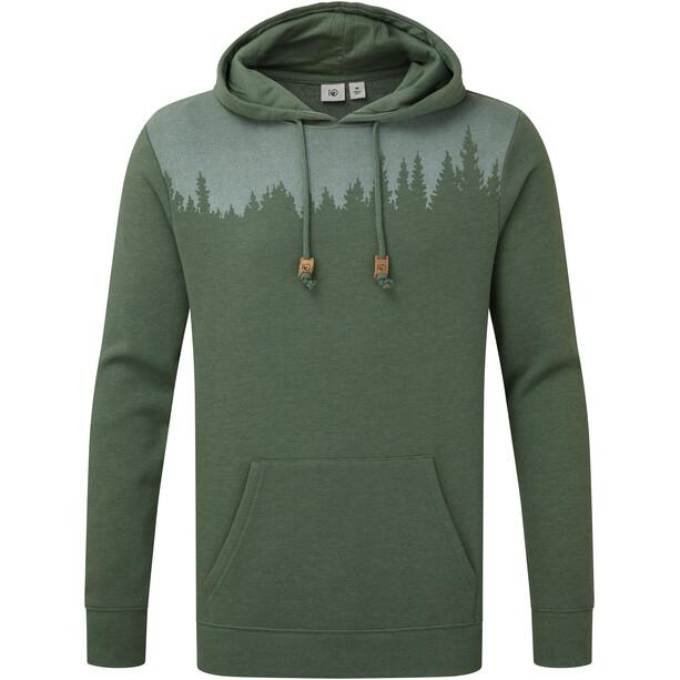 tentree Juniper Classic Hoodie Herren forest green heather