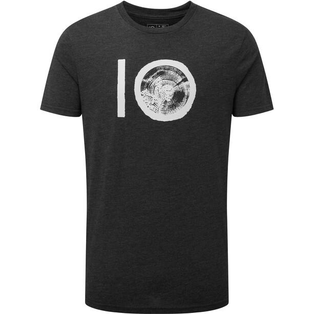 tentree Ten Classic T-Shirt Herren meteorite black heather