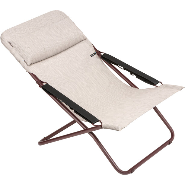 Lafuma Mobilier Transabed Sunlounger Batyline Duo, pink/sirocco