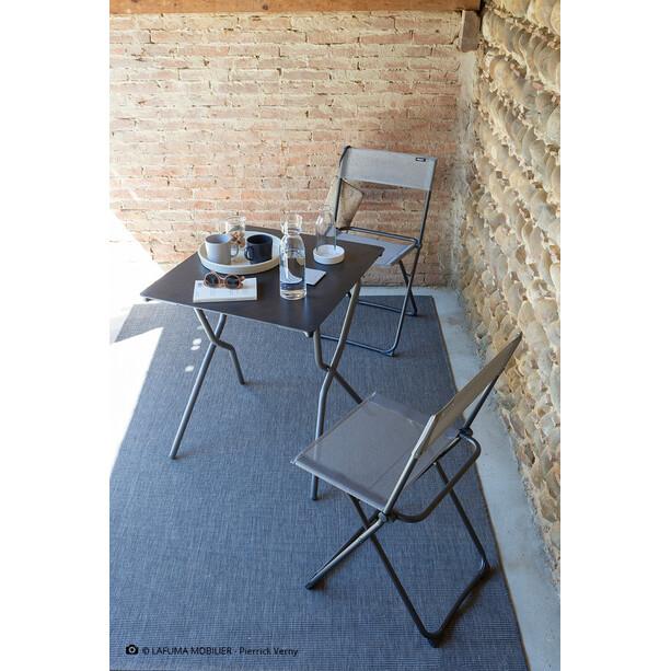 Lafuma Mobilier Anytime Tisch 68x64cm grau