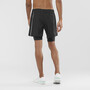 Salomon Agile Twinskin Shorts Herr black
