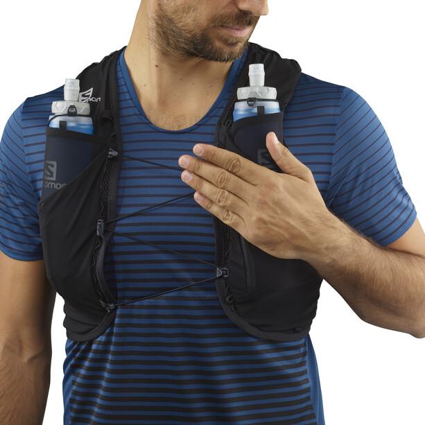Salomon Adv Skin 5 Backpack Set black
