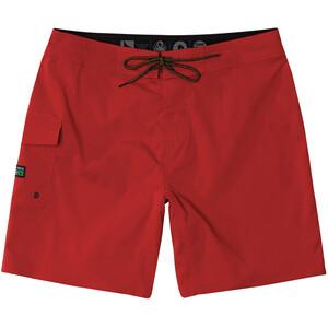 Hippy Tree Patrol Pantalones cortos Hombre, rojo rojo