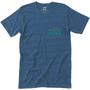 Hippy Tree Locals T-Shirt Homme, bleu