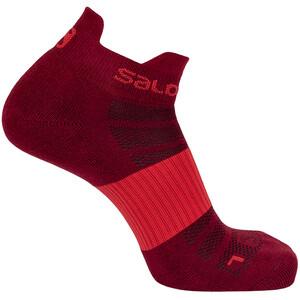 Salomon Sense Socken 2 Pack rot/weiß rot/weiß