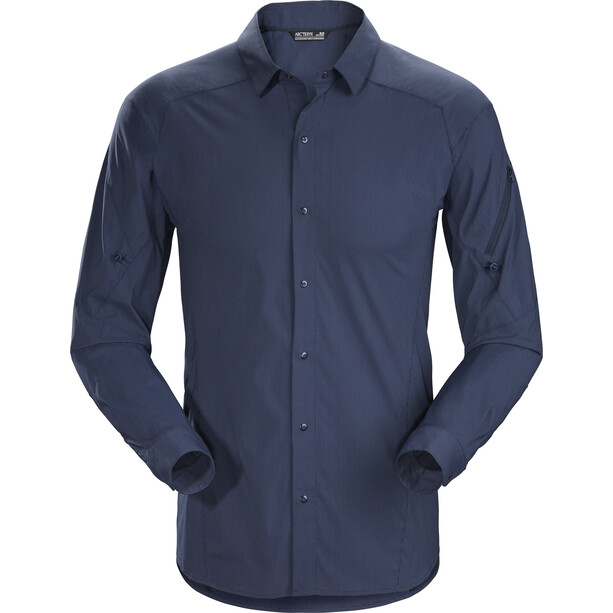 Arc'teryx Elaho Langarm Shirt Herren cobalt moon