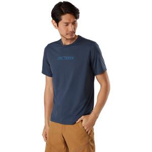 Arc'teryx Remige Word Kurzarm T-Shirt Herren cobalt moon cobalt moon