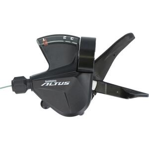 Shimano Altus SL-M2010 Shift Lever Rapidfire Plus 3-speed left black black