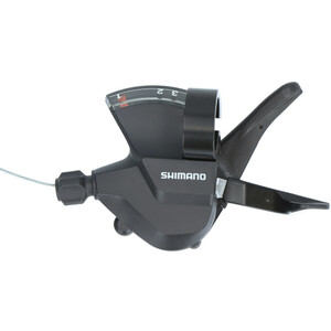 Shimano SL-M315 Schalthebel Rapidfire Plus 3-fach links black black