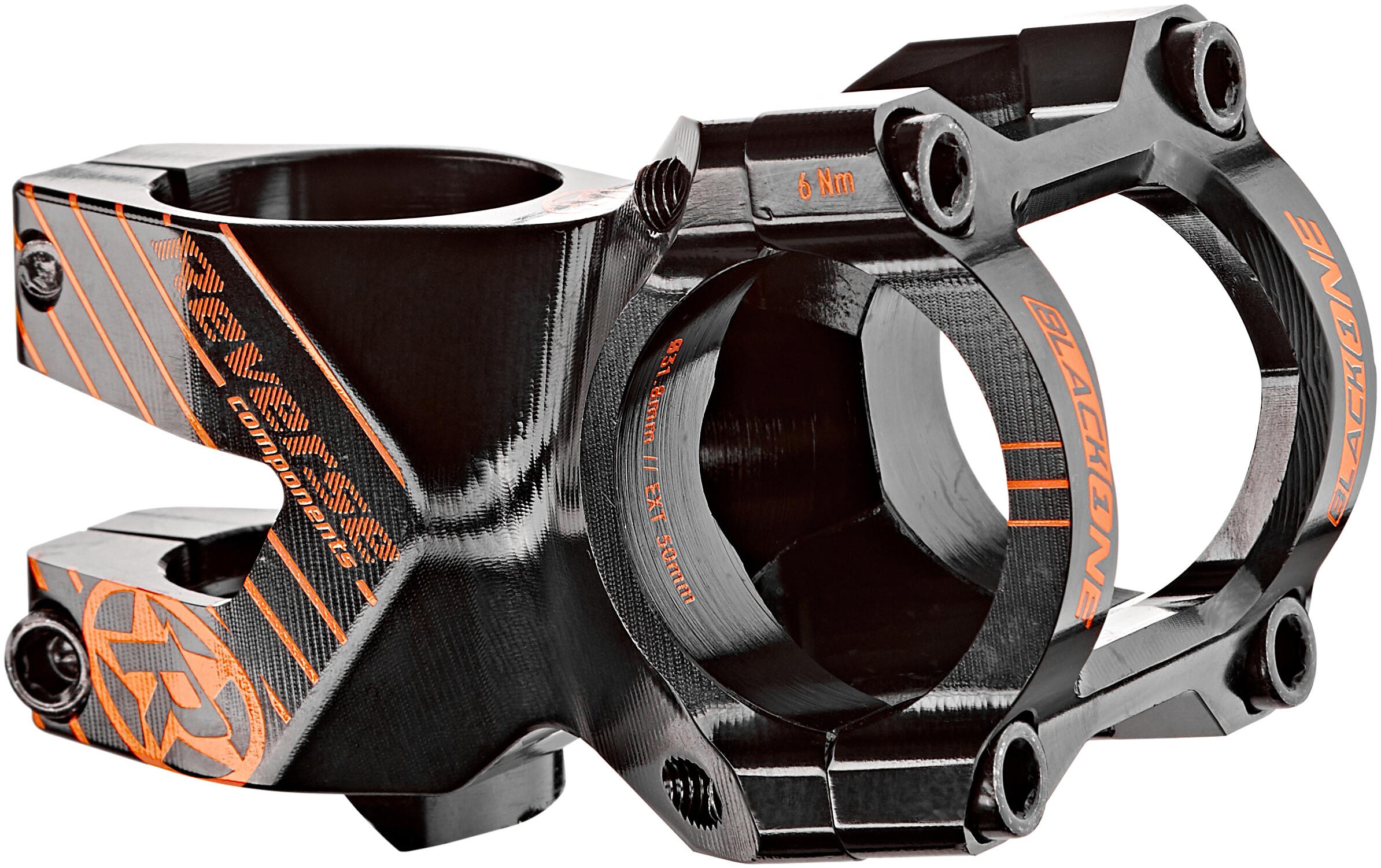 Reverse Black One Enduro potence 31.8 mm 35 mm 8 noir//rouge