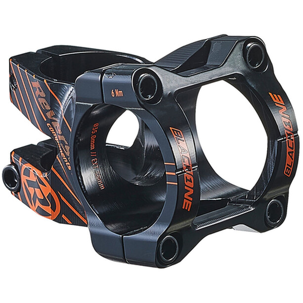 Reverse Black One Enduro Vorbau Ø35mm black/fox orange