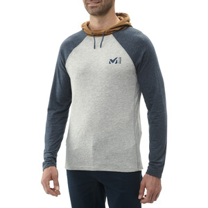 Millet Red Wall Light Hoodie Herren heather grey/orion blue heather grey/orion blue