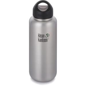 Klean Kanteen Wide Bottle Stainless Loop Cap 1182ml brushed stainless brushed stainless