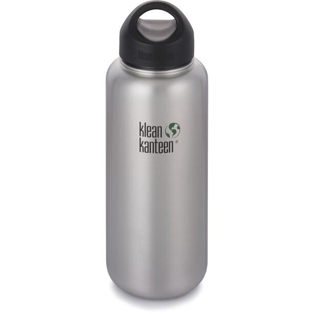 Klean Kanteen Wide Bottle Stainless Loop Cap 1182ml brushed stainless