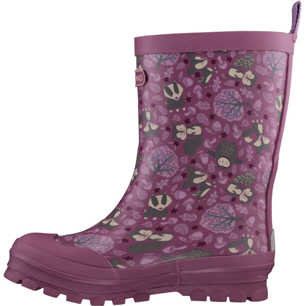 Viking Footwear Jolly Woodland Stiefel Kinder navy/multi