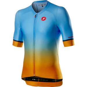 Castelli Aero Race 6.0 Maillot Manches courtes Homme, bleu/orange bleu/orange