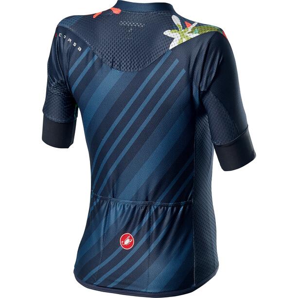 Castelli Climber's Kurzarm Trikot Damen dark steel blue