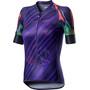 Castelli Climber's Kurzarm Trikot Damen deep purple