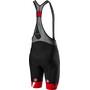 Castelli Free Aero Race 4 Kit Bib Shorts Men black/red