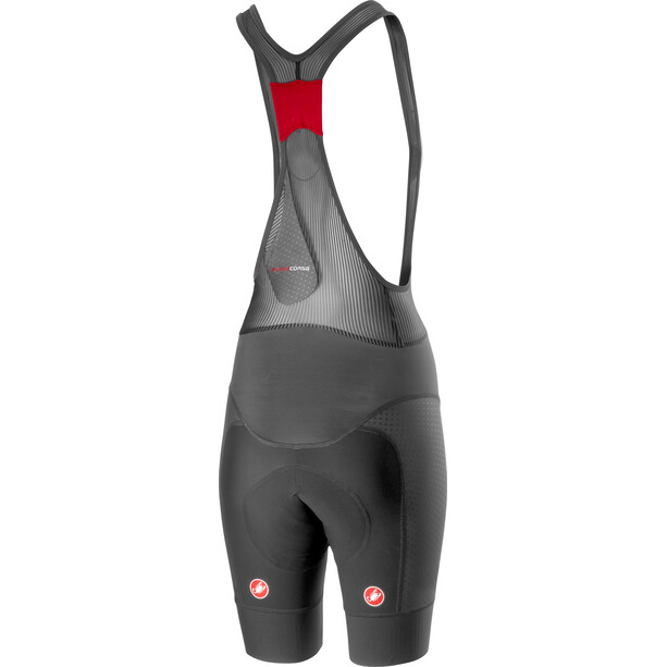 Castelli Free Aero Race 4 Bib Shorts Dam dark grey