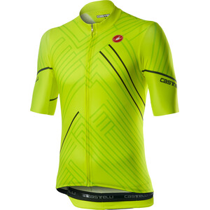Castelli Passo SS Jersey Men yellow fluo yellow fluo