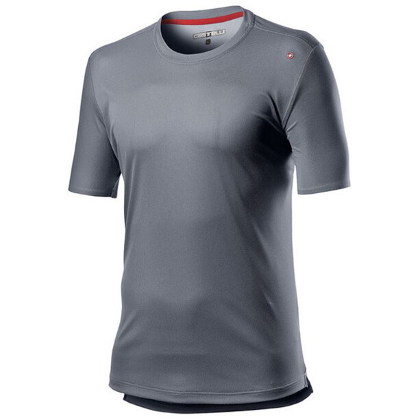 Castelli Tech T-Shirt Herren silver/gray