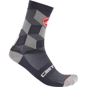 Castelli Unlimited 15 Socken dark gray dark gray