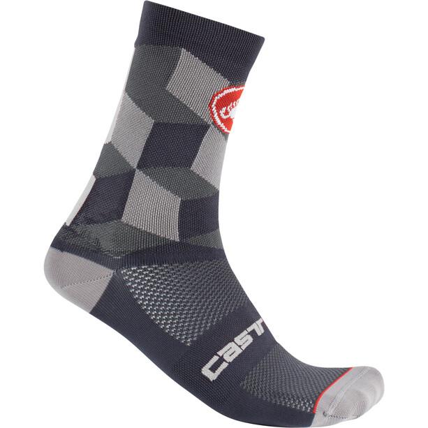 Castelli Unlimited 15 Socken dark gray