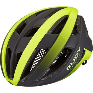 Rudy Project Venger Road Helm schwarz/gelb schwarz/gelb