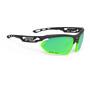 matte black/lime/polar3FX HDR multilaser green