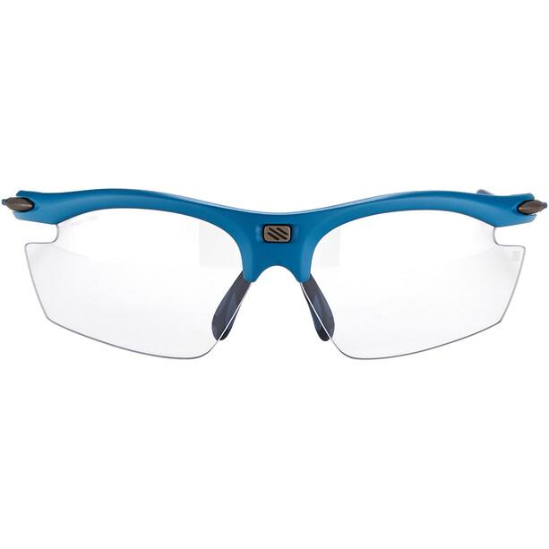 Rudy Project Rydon Slim Lunettes, bleu/transparent