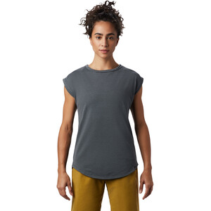 Mountain Hardwear Everyday Perfect Kurzarm T-Shirt Damen dark storm dark storm