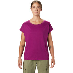 Mountain Hardwear Tomomi Kurzarm T-Shirt Damen berry glow berry glow