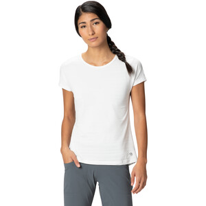 Mountain Hardwear Mighty Stripe Kurzarm T-Shirt Damen fogbank fogbank
