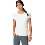 Mountain Hardwear Mighty Stripe Kurzarm T-Shirt Damen weiß