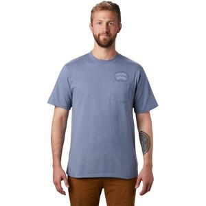 Mountain Hardwear Marrow Kurzarm T-Shirt Herren light zinc light zinc
