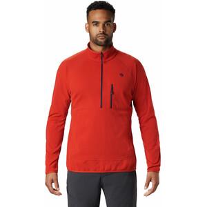 Mountain Hardwear Norse Peak Half Zip Pullover Herren desert red desert red