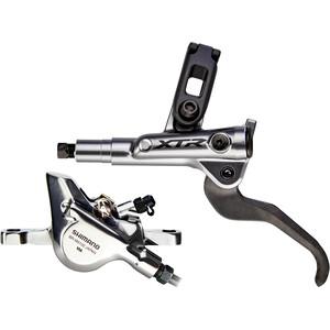 Shimano XTR BL-M9100 2 Piston Scheibenbremse Vorderrad silber/schwarz silber/schwarz