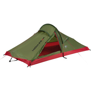 High Peak Siskin 2.0 Zelt grün/rot grün/rot