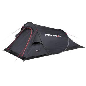 High Peak Campo Tente, noir noir