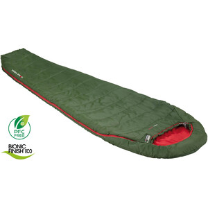 High Peak Pak 1000 Schlafsack pesto/red pesto/red