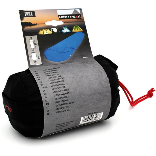 High Peak Enna Cotton Inlet for Mummy Sleeping Bags, sininen