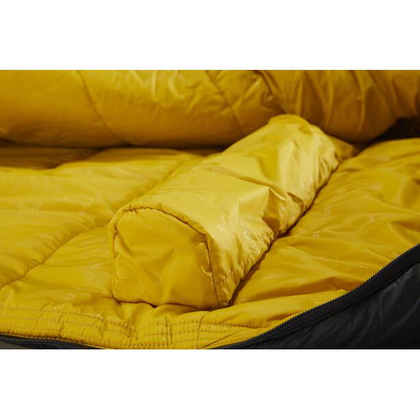 Nordisk Puk -2° Curve Schlafsack M true navy/mustard yellow/black