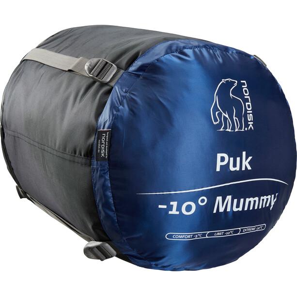 Nordisk Puk -10° Mummy Sleeping Bag XL, musta/sininen