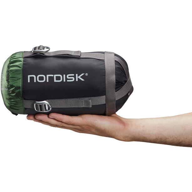 Nordisk Gormsson +10° Curve Schlafsack L schwarz/grün