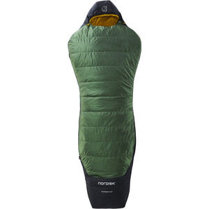 Nordisk Gormsson +10° Curve Sac de couchage XL, noir/vert noir/vert