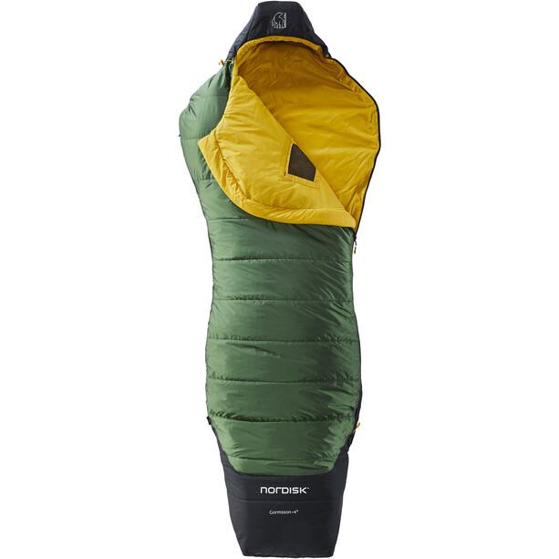 Nordisk Gormsson +4° Curve Schlafsack L schwarz/grün