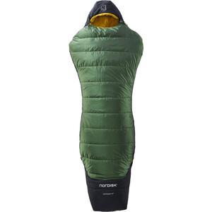 Nordisk Gormsson +4° Curve Schlafsack XL artichoke green/mustard yellow/black artichoke green/mustard yellow/black