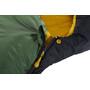 Nordisk Gormsson -2° Curve Schlafsack L artichoke green/mustard yellow/black